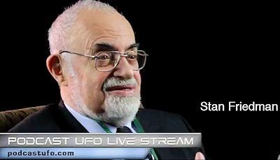 Stan Friedman on Podcast UFO Live