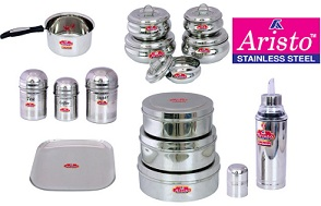 Aristo Kitchen & Dining Utensils – Upto 73% Off+ Extra 40% Off@ Pepperfry