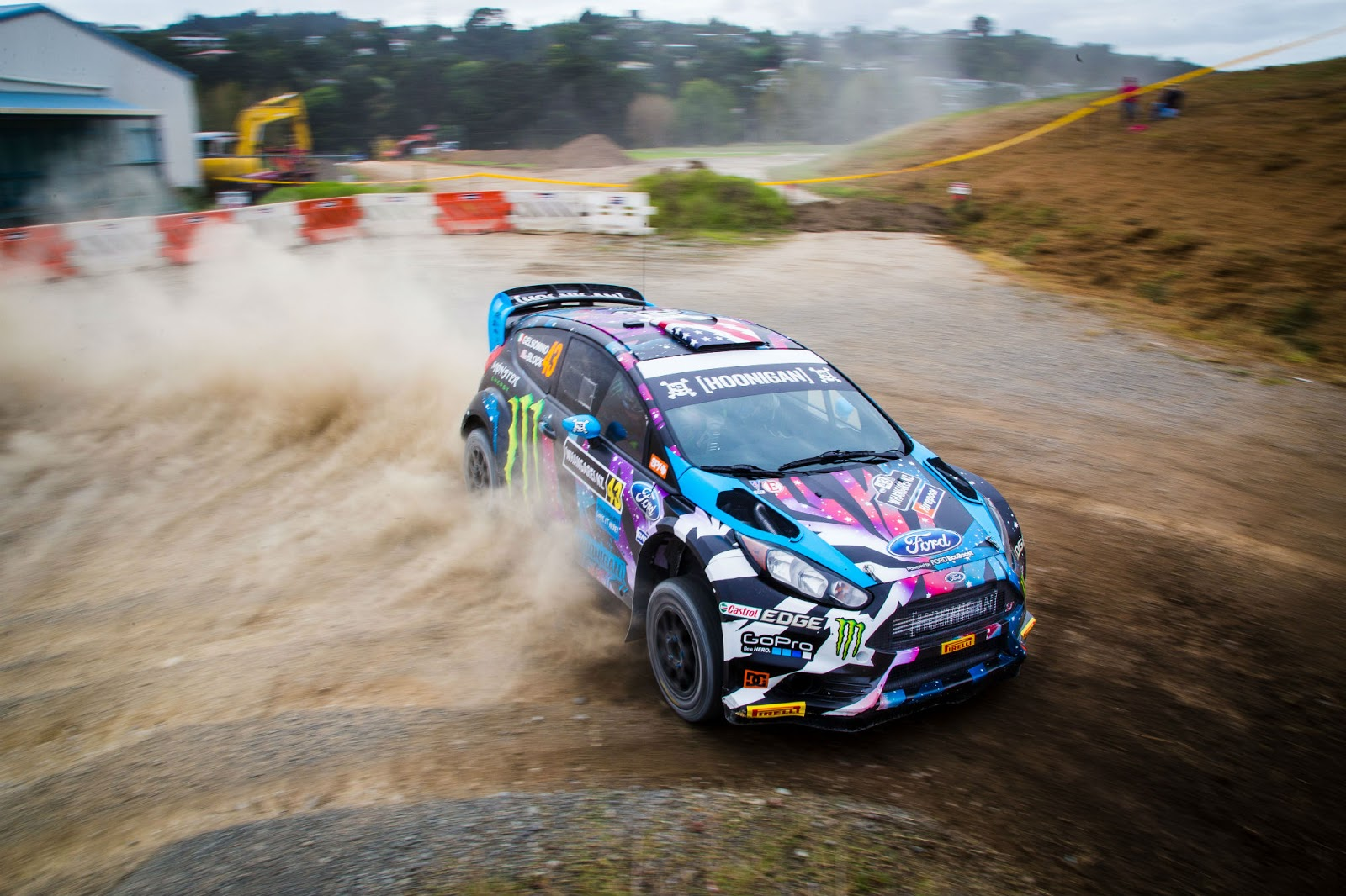 Ken Block S Gymkhana And Rally Spec Ford Fiesta For Sale