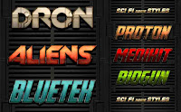 sci fi game styles