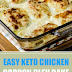Easy Keto Chicken Cordon Bleu Bake