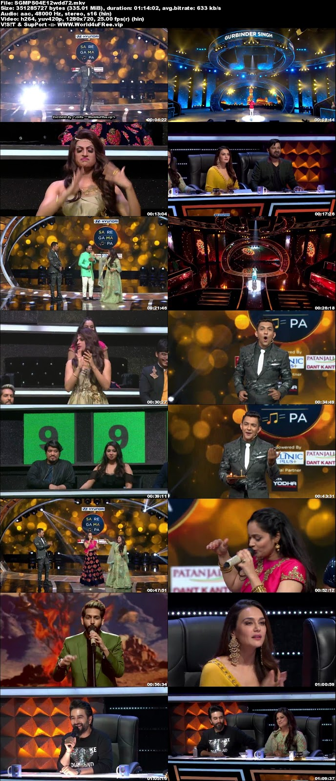 Sa Re Ga Ma Pa 2018 S04 Episode 12 720p WEBRip 300Mb x264 world4ufree.vip tv show Sa Re Ga Ma Pa 2018 S04 2018 hindi Zee tv show compressed small size free download or watch online at world4ufree.vip