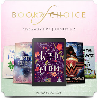 Book of Choice Giveaway banner