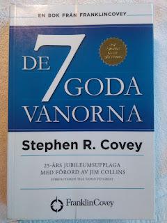 Nedanstående text är från den här boken som jag tycker är jättebra! De 7 Goda Vanorna, av Stephen R. Covey