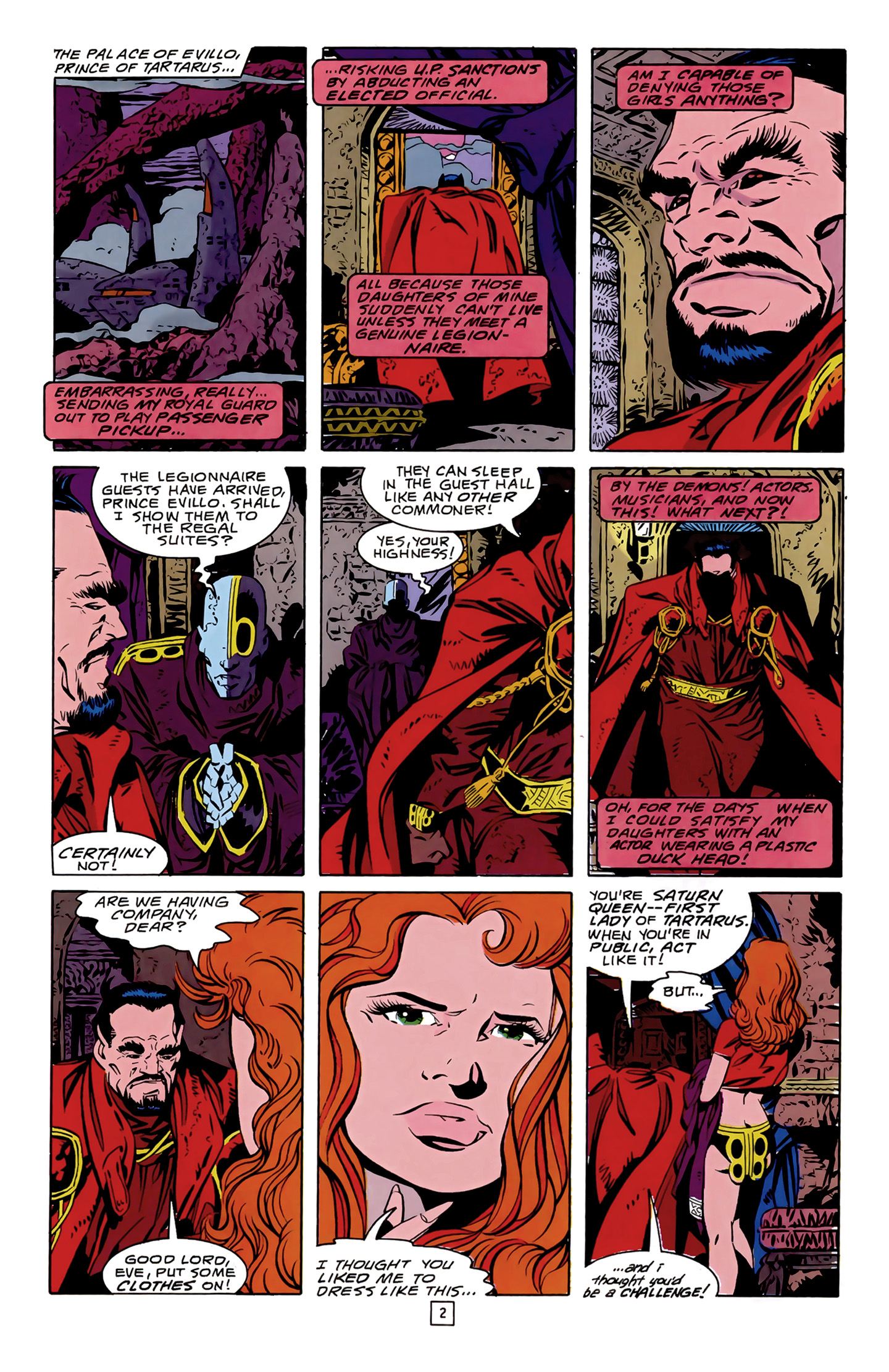 Legion of Super-Heroes (1989) 14 Page 2