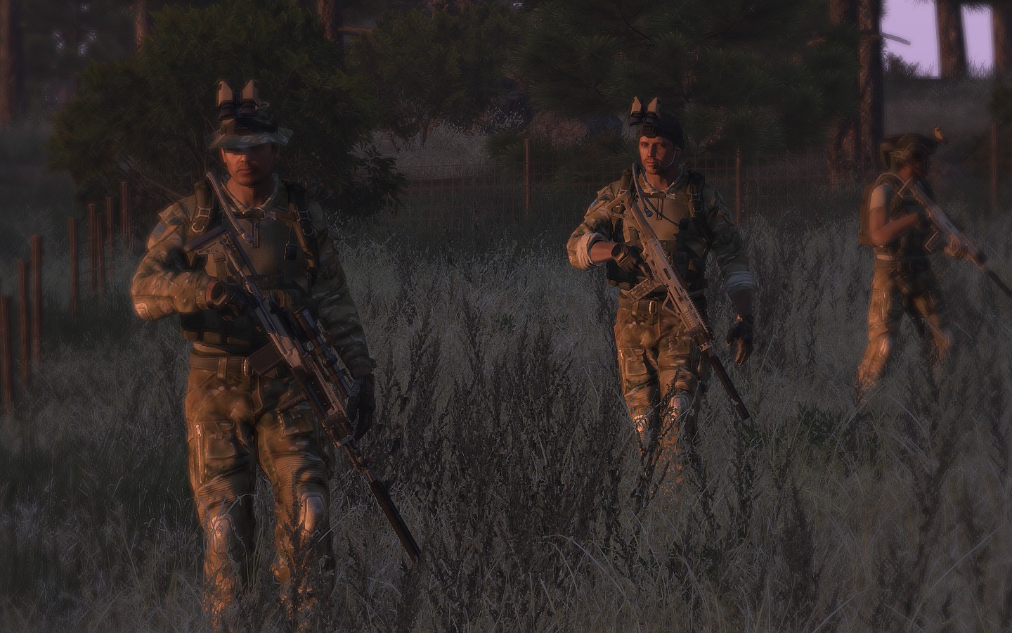 Real and Simulated Wars: Simulating Reconnaissance Operations in ArmA 3