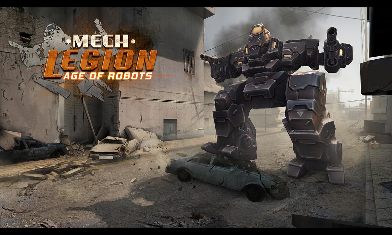 Mech Legion Age of Robots MOD APK