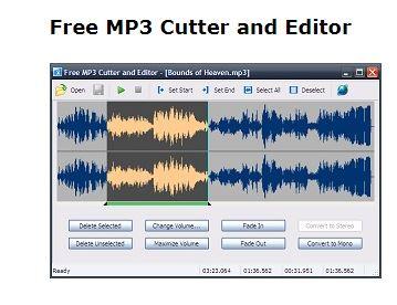 برنامج تحرير وتقطيع ملفات ام بي ثري Free MP3 Cutter and Editor