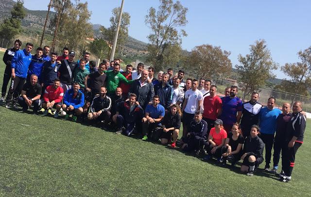 Με επιτυχία ολοκληρώνεται η Πρώτη Φάση της Σχολής προπονητών UEFA-C από την ΕΠΣ Αργολίδας