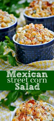 Mexícan Street Corn Salad