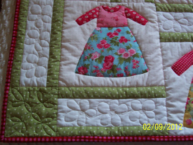 Colleen' Quilting Journey Dolly Dress #1 Dustin