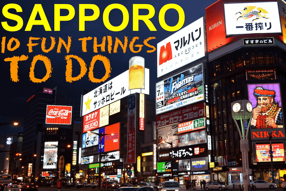 sapporo ten fun things to do