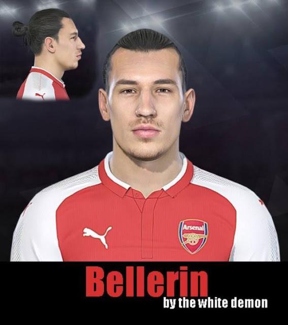 Hector Bellerin Face PES 2018