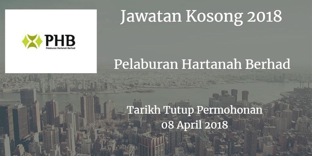 Jawatan Kosong Pelaburan Hartanah Berhad 08 April 2018