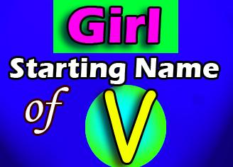 Modern Baby Girl Names Starting With V