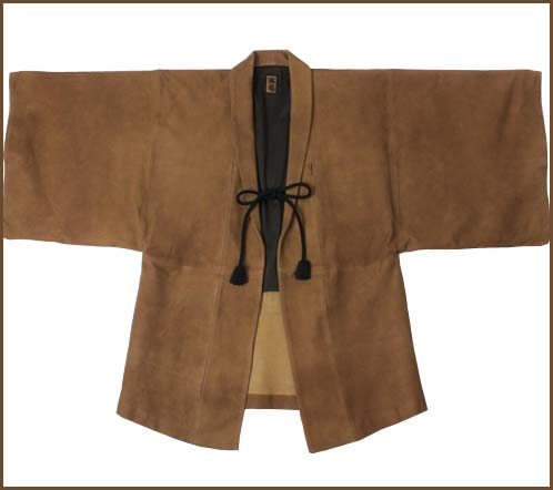 WKD (01) ... World Kigo Database . . . (WKD): Leather Haori