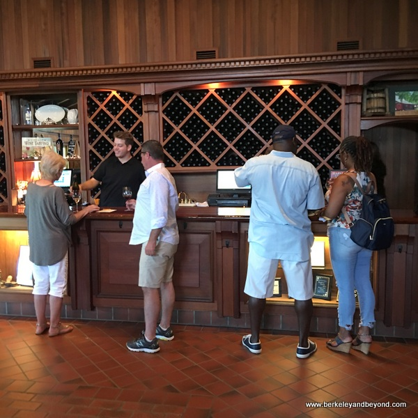 tasting room at Wooden Valley Winery & Vineyards in Fairfield, California