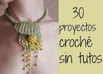 Proyectos de crochet con o sin tutoriales