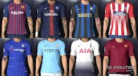 Nike Home Kits 2018-19 Leaked - PES 2017
