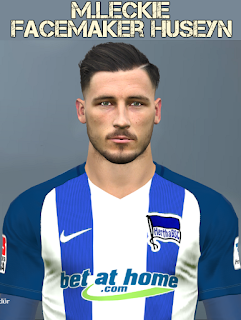 PES 2017 Faces Mathew Leckie by Huseyn