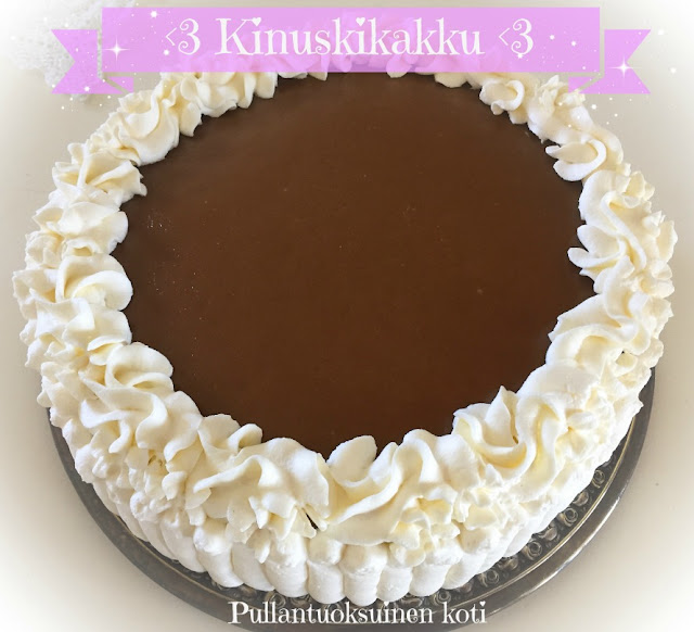 #kinuskikakku #caramelcake #paraskinuskikakku #leivonta #kinuski #täytekakku #creamcake #kermakakku #synttärikakku #juhlakakku #cake