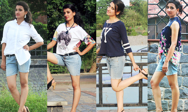4 Trendy Ways To Wear The Denim Shorts