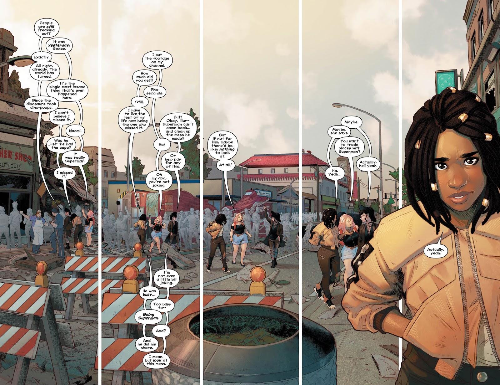 Weird Science DC Comics: PREVIEW: Naomi #1