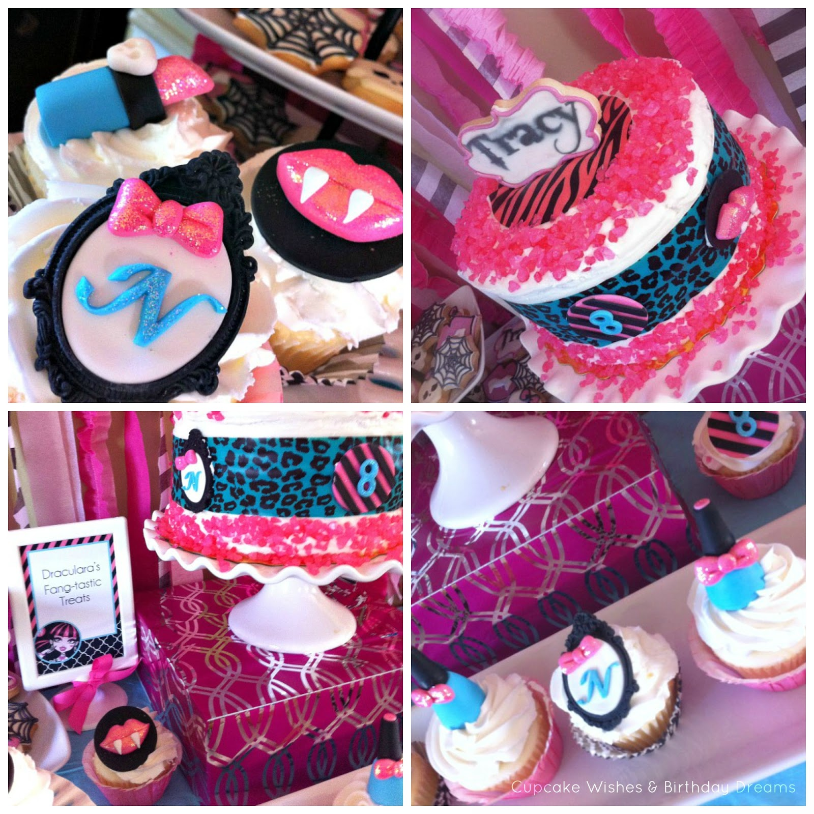 Outstanding Cupcake Wishes Birthday Dreams Cupcake Monday Monster High Personalised Birthday Cards Beptaeletsinfo
