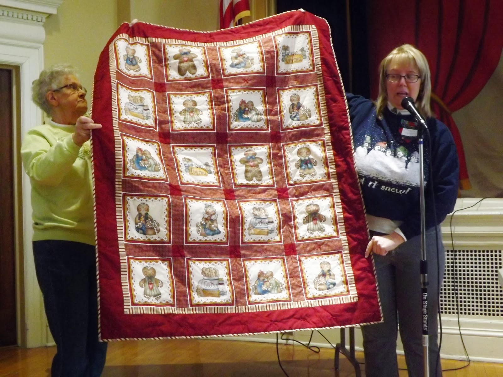 Museum Quilt Guild Dashing Through The Snow