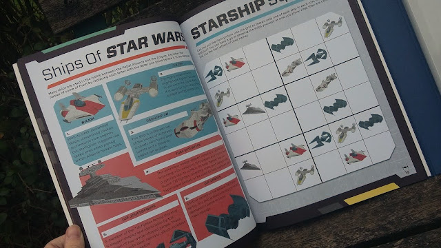 Star Wars and World Book Day - Review and Giveaway Starfighter workshop activity book