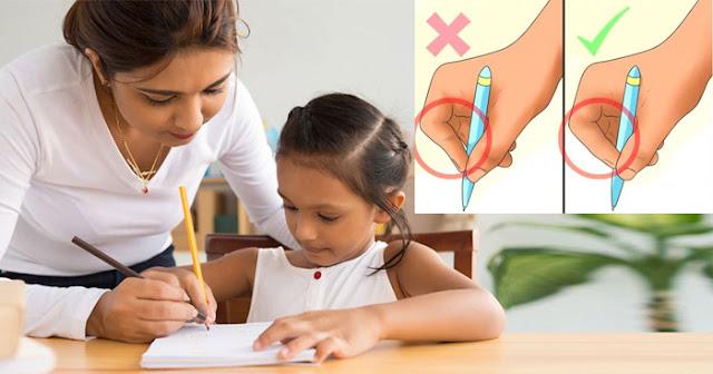 क्या आपके बच्चे भी हैंडराइटिंग है खराब तो इन तरीकों से सुधारे उसकी यह आदत