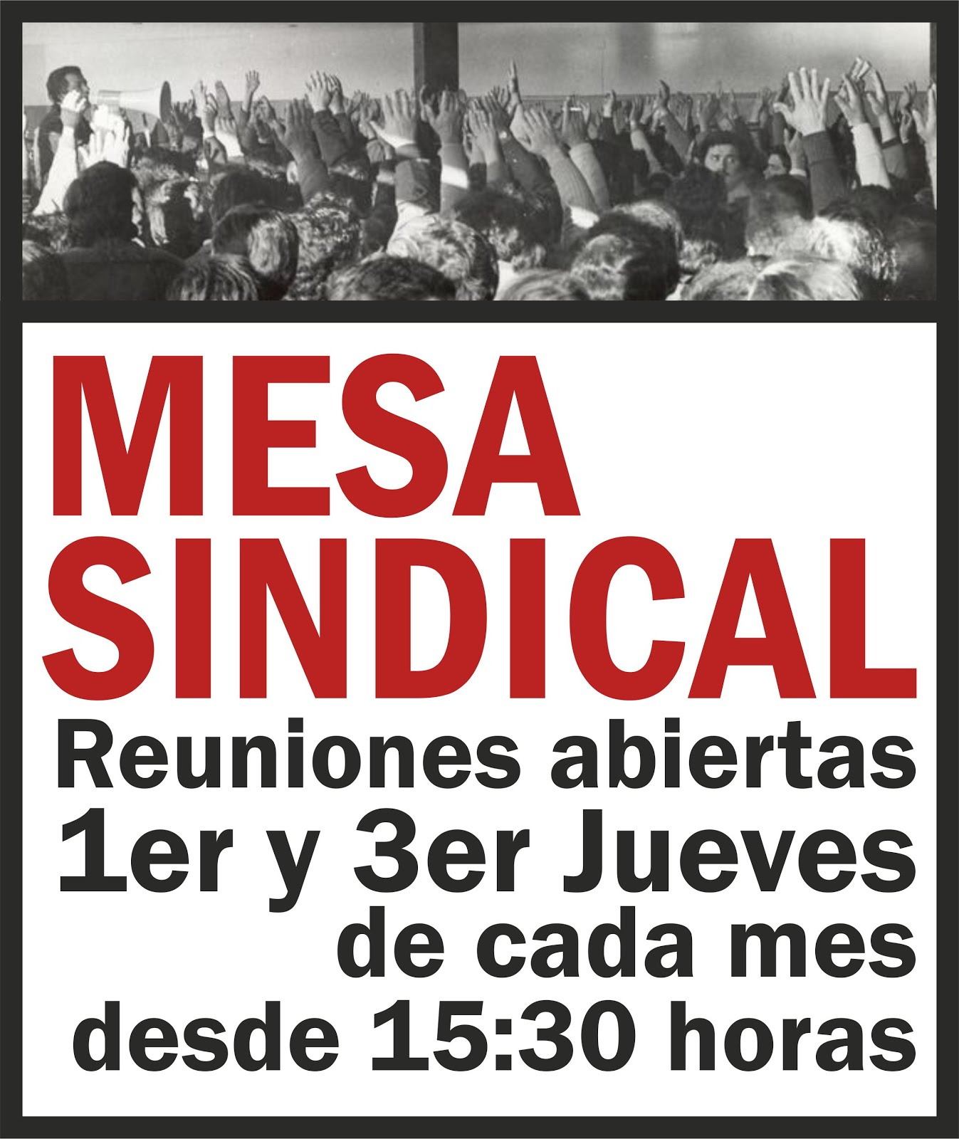 MESA SINDICAL