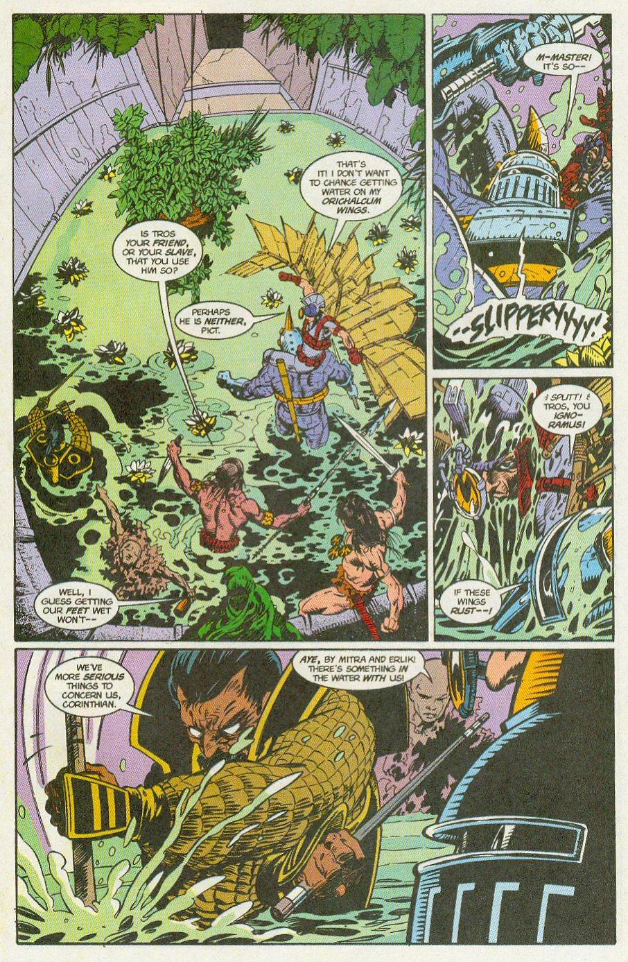 Read online Conan the Adventurer comic -  Issue #13 - 15