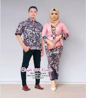 model baju muslim batik wanita
