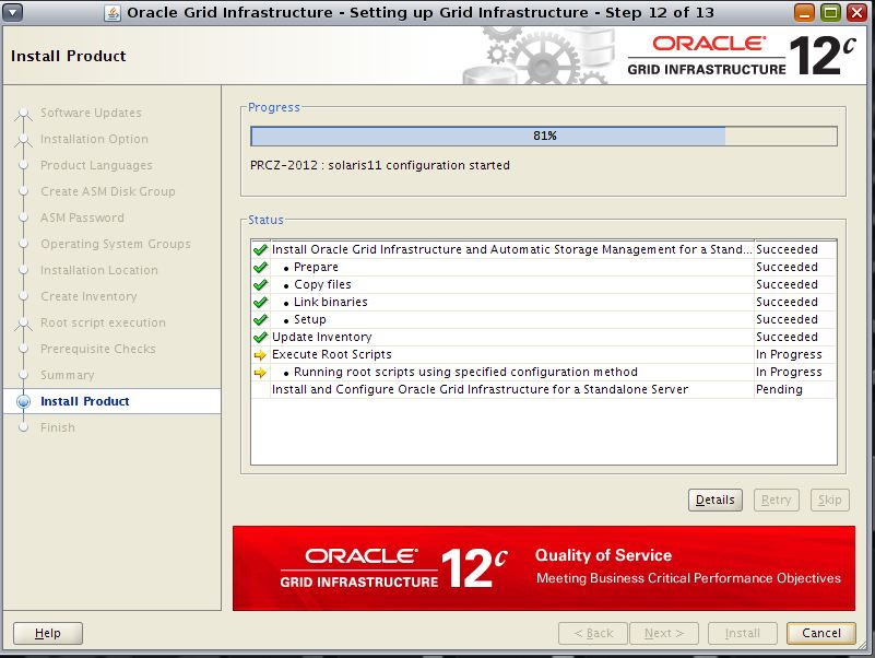 Additional Solaris OS Steps for installation of ... - Oracle