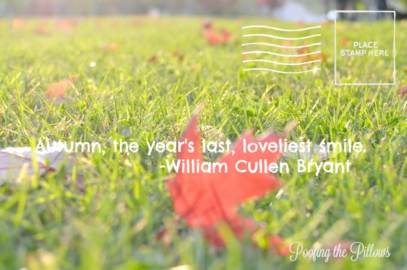 fall quotes, autumn quotes, quotes about fall, quotes about autumn, William Cullen Bryant