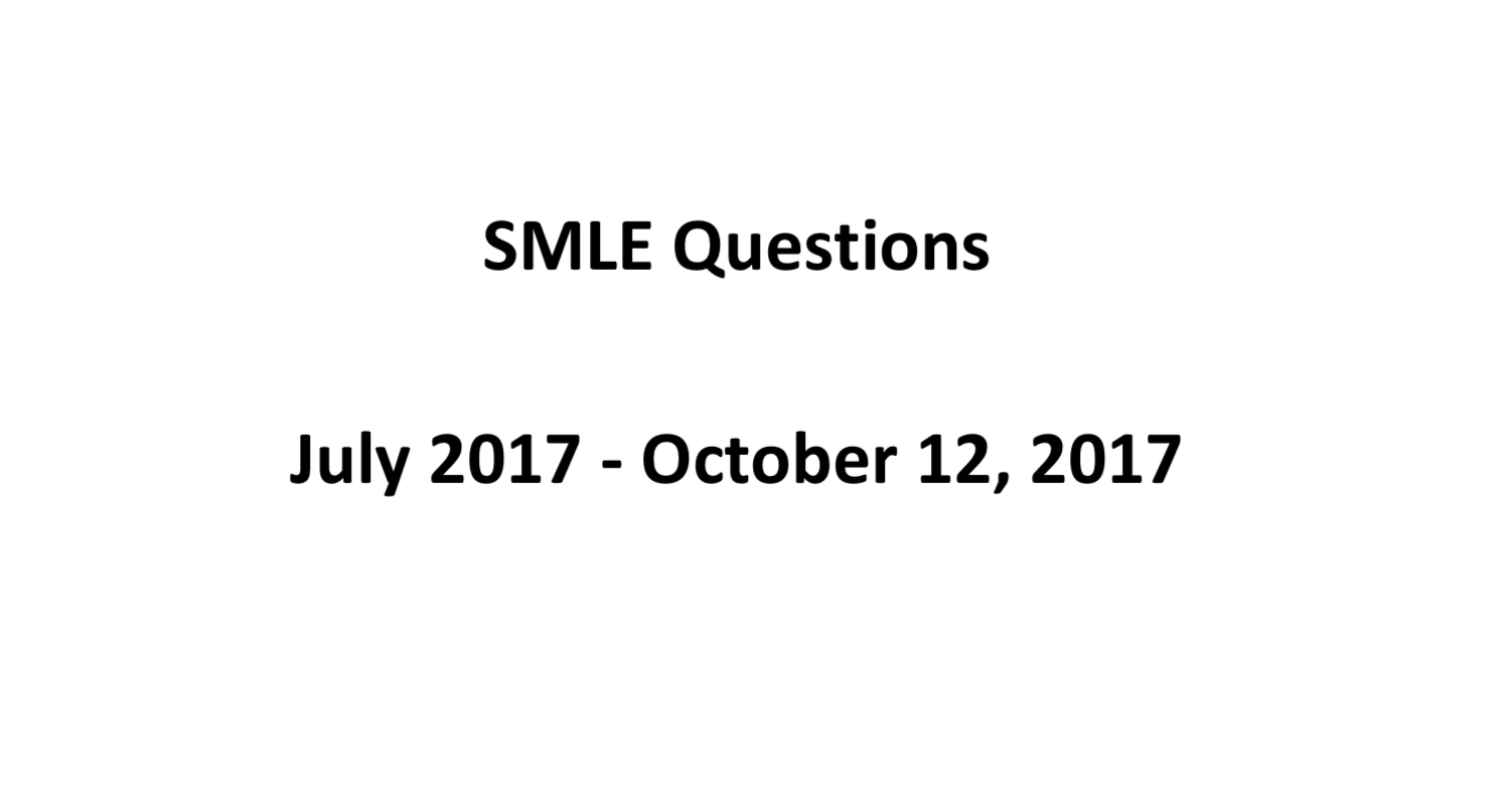 "SMLE Questions From July October ظ""ظ'ط·ط© ط§ظ""ط´ط§ط´ط© ظ،ظ¤ظ£ظ©-ظ ظ¢-ظ¢ظ¤ ظپظٹ ظ¥.ظ،ظ¢.ظ¤ظ§آ ظ….png"