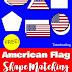 American Flag Shape Matching