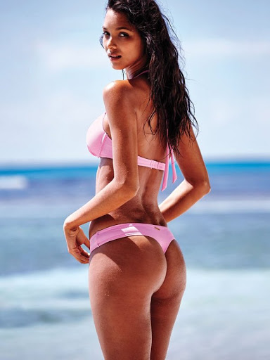 Lais Ribeiro – Victoria's Secret Bikini Models Photoshoot