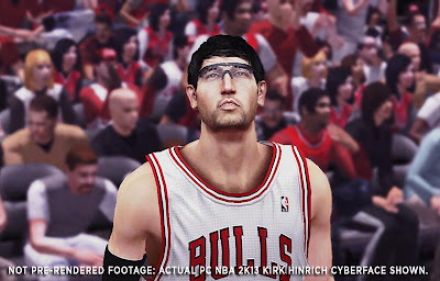 NBA 2K13 Kirk Hinrich Cyberface Patch