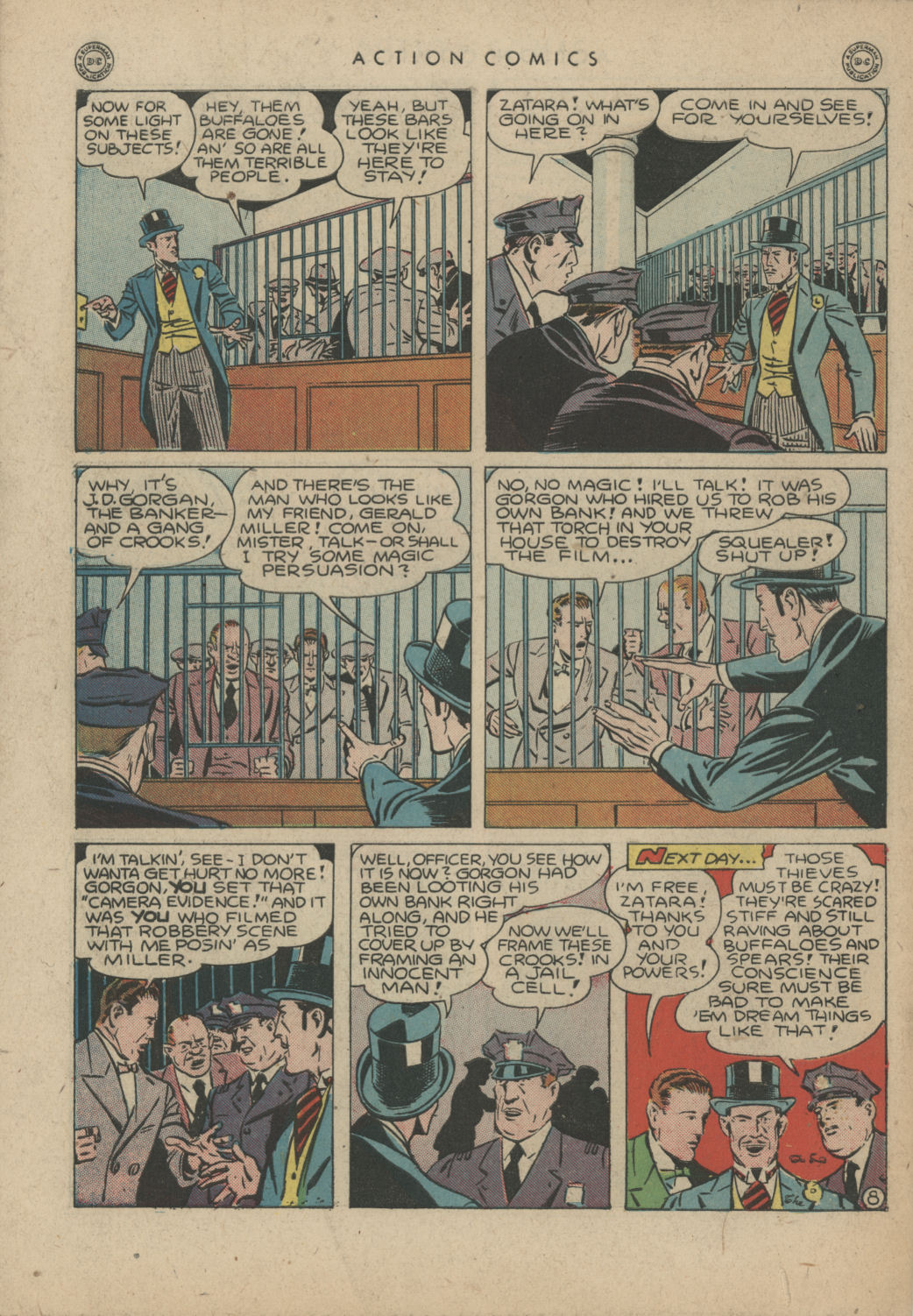 Read online Action Comics (1938) comic -  Issue #83 - 49