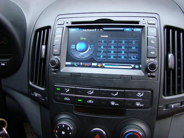 Central multimídia dos carros atuais
