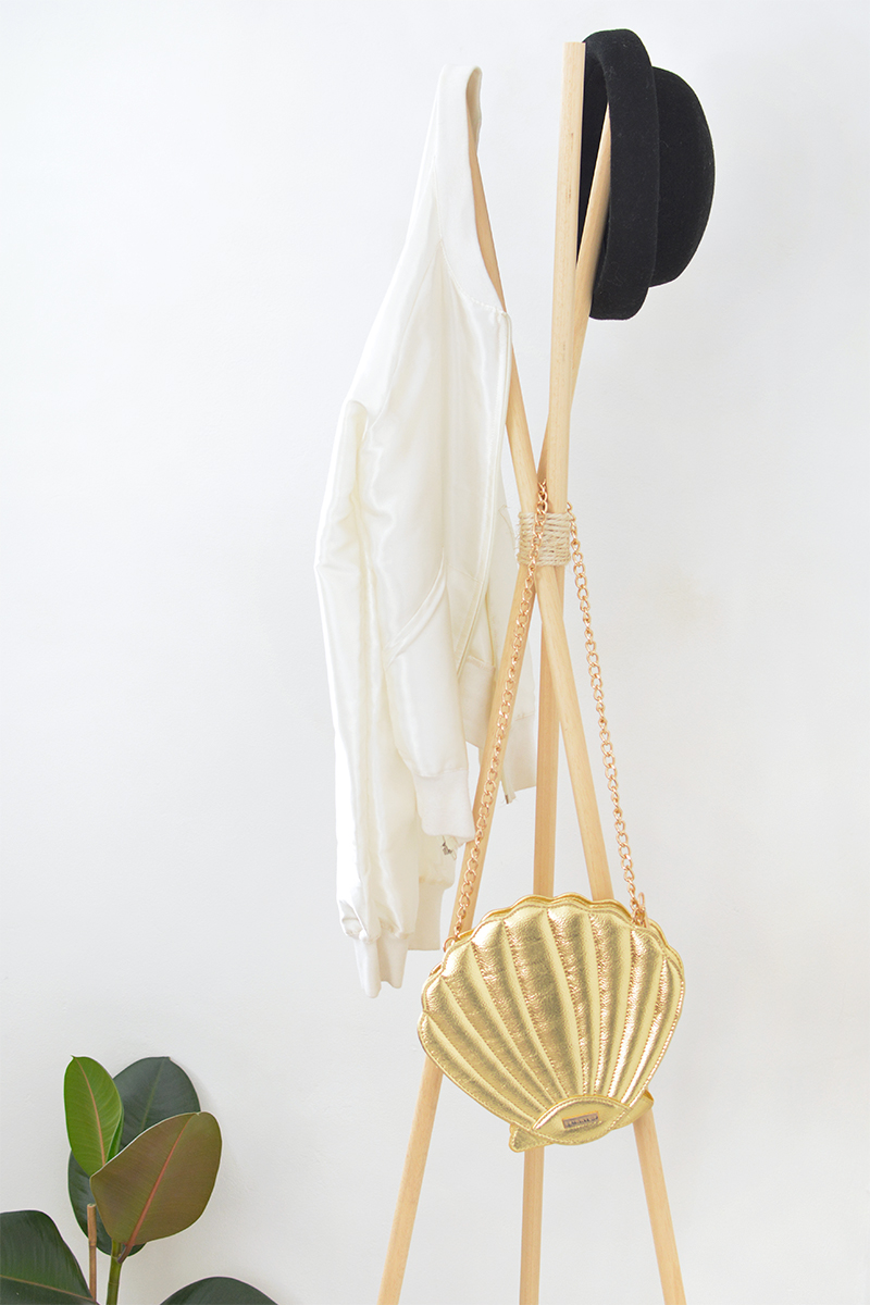 diy modern teepee hat coat stand how to