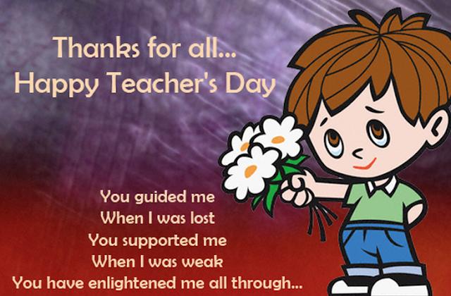 Teacher's Day Speech