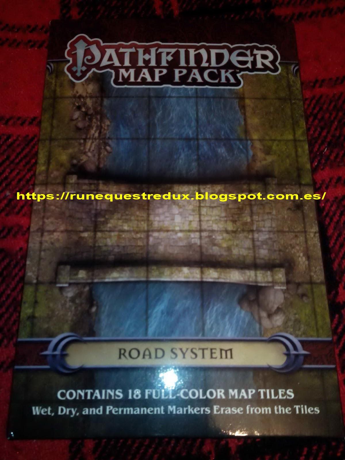 Runequest Redux. Gatadas roleras.: Pathfinder Map Packs, las ...
