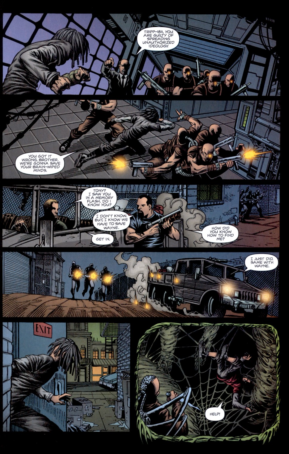 Read online Static-X: Machine comic -  Issue # Full - 13