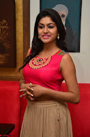 Akshita super cute Pink Choli at south indian thalis and filmy breakfast in Filmy Junction inaguration by Gopichand ~  Exclusive 079.JPG