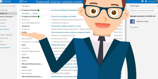 datos de Hotmail que debes conocer