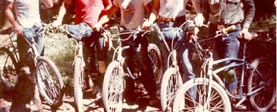 Early mountain bicycles from the 1970s