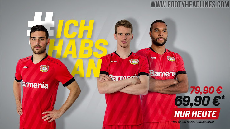Leverkusen 19-20 Home, Away & Third Kits Released - Footy ...
